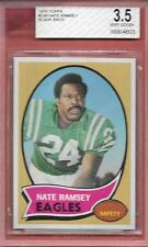 BLANK BACK PROOF 1970 TOPPS #239 NATE RAMSEY EAGLES BECKETT BVG GRADED RARE *ABC