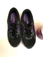 Nike Dual Fusion ST2 Running Athletic Training Shoe Womens Size 5Y Purple