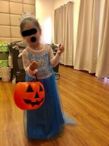 Princess Elsa Costume Frozen (for 3- 4 years old)