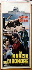 locandina film LA MARCIA DEL DISONORE - ROGUE'S MARCH Peter Lawford 1953