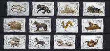 Lot série timbre france adhésif complète 2013 les animaux dans l'art artistique