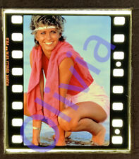 OLIVIA NEWTON-JOHN, PHISICAL original 35 mm press transparency slide