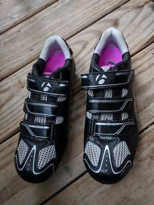 Bontrager Inform Solstice Women Bicycle Shoes Cycling Road Race Black Ladies