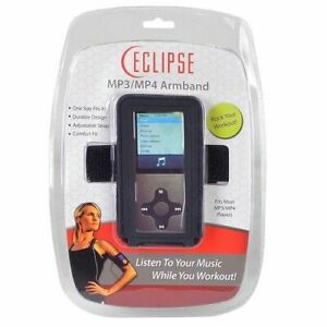 ECLIPSE MP3 MP4  Adjustable Armband - Black