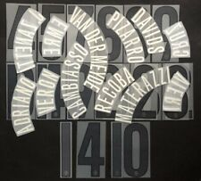 INTER KIT e NUMERI UFFICIALI 2004-2005 AWAY OFFICIAL NAMESET and NUMBERS
