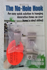 No-Hole Hook Vinyl Siding Hangers Variety Pack - 8 Hooks Total (2 of each style)