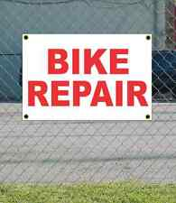 2x3 BIKE REPAIR Red & White Banner Sign NEW Discount Size & Price FREE SHIP