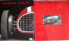 FERRARI CAVALLERIA 375 F1 livre NEUF  book  N°4 . Français English Italiano