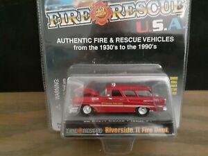 Racing Champions  1956 Chevrolet Fire Rescue Riverside,IL