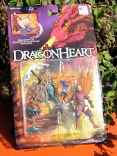 1995 Kenner  Dragon Heart Felton W/Spinning Battle Blade + Mace MOC