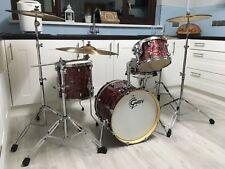"Gretsch Catalina Club Jazz 4 Piece Drum Kit  - With ""Hardcase"" cases."