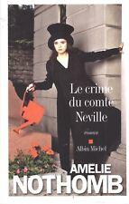 AMELIE NOTHOMB LE CRIME DU COMTE NEVILLE + PARIS POSTER GUIDE