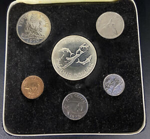 1970 Bermuda Silver Dollar, First Decimal CoIn Set- Only 11,000 Dollars Minted!!