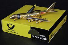 "Danzas Cargo B747-200F Special "" Golden ""  Sky models  scale 1:500  LAST ONE!!!!"