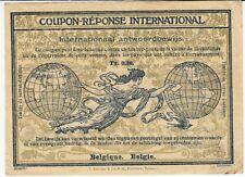 Belgio-risposta internazionale fittizio circa 1911,irc, CRI, modello Roma, fr.0, 28.