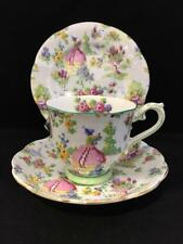 ROYAL ALBERT LADY GAY TRIO 1930's VINTAGE CUP SUCER AND PLATE