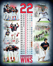 Cleveland Indians 22-GAME WIN STREAK 2017 Commemorative Collage Premium POSTER
