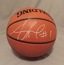 Amare Stoudemire SIGNED Official Size Spalding NBA Basketball AUTO COA