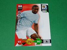 DEFOE ENGLAND  PANINI FOOTBALL FIFA WORLD CUP 2010 CARD ADRENALYN XL