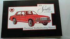 Cadillac 1979 Seville electrical troubleshooting manual