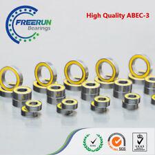 FOR TRAXXAS CAR XO-1 1/7 SCALE SUPERCAR ABEC 3 Blue Rubber ball bearings 23pcs