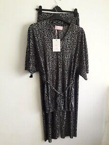 Love Pink Lily Leopard Printed Loungewear L/XL BNWT (fits 16)