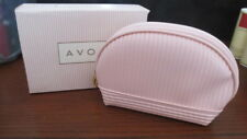"""New In Box Avon Pink Ribbon Cosmetics Case- Pink Breast Cancer Awareness 7"""" Long"""