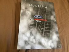 ALL NEW 2018 FORD MUSTANG PERFORMANCE PARTS COLOR BROCHURE CATALOG PROSPEKT