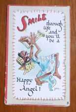 1940's The Butter Krust bread Postcard Smile throught life