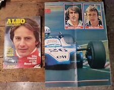 Albo Varietà Motori. N.21 del 21/05/1980 Gilles Villeneuve+Poster della Ligier