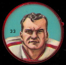 1963 CFL NALLEY'S FOOTBALL SP COIN #33 JERRY SELINGER EX+ Ottawa Rough Riders