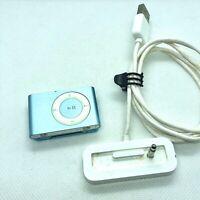  Apple iPod Shuffle 2eme Generation 1go bleu