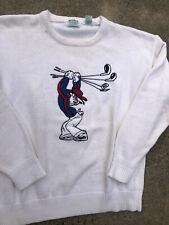 Vintage 1990s Disney Goofy Graphic Golf Crewneck Sweatshirt Cartoon Sweater