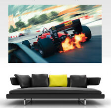 Classic ferrari F1 giant wall art poster print art in one piece