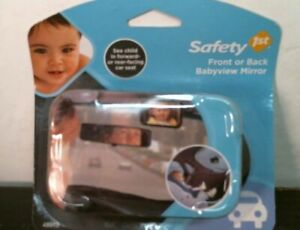 Safety 1st 48919  Front or Rear View Baby Mirror