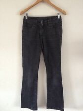 CHEROKEE Donna Jeans Taglia 8 Long Bootcut Carbone < R11657