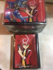 Cardfight Vanguard G Chrono Shindou Card Sleeves 60pcs + mactching deckbox set