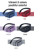 Bum Bag Fanny Pack Pouch Waist Belt Leather Money Wallet Holiday Festival Travel