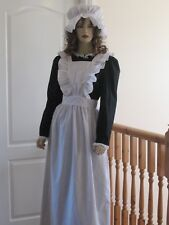 VICTORIAN/EDWARDIAN ERA AUTHENTIC STYLE MAIDS APRON ( Medium)
