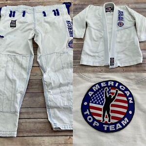 American Top Team By Century Jiu Jitsu Gi Size Youth M3 Kimono Pants - No Belt