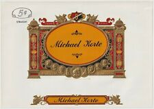 Michael Korte - Cigar Box Label