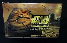 Star Wars Decipher CCG Limited Jabba's Palace Booster Box New FS 1998 TCG