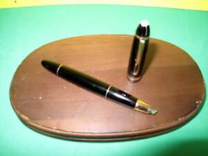 Montblanc Meisterstuck No. 166 Marker / Highlighter - Black w/ Gold Trim - Nice!