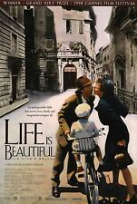 Life Is Beautiful (1998) Original Movie Poster - Rolled
