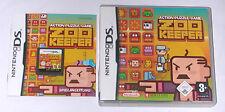 Spiel: ZOO KEEPER Action Puzzle für den Nintendo DS Lite + Dsi + XL + 3DS + 2DS