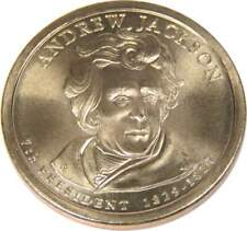 2008 Andrew Jackson Presidential Dollar Uncirculated $1 Missing Edge Lettering