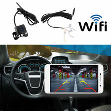 WiFi Wireless Car Track Rear View Cam Backup Reverse Camera for iPhone Android