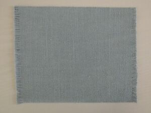 PALE BLUE TEXTURED RUG 12th SCALE FOR DOLLS HOUSE