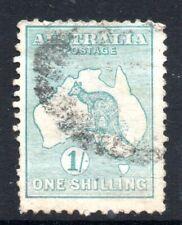 Australia: 1913 Roo 1/- SG 11a used