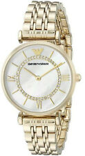 Emporio Armani Women's Watch Gold/Mother of Pearl Dial AR1907